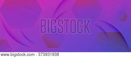 Purple Fluid Stripes. Business Liquid. Abstract Gradient Wallpaper. Modern Wave Poster. Fluid Stripe
