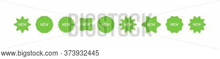 New Tag. Price Tags Collection. Special Offer Collection. Tags, Stickers, Label Vector Icons. Templa