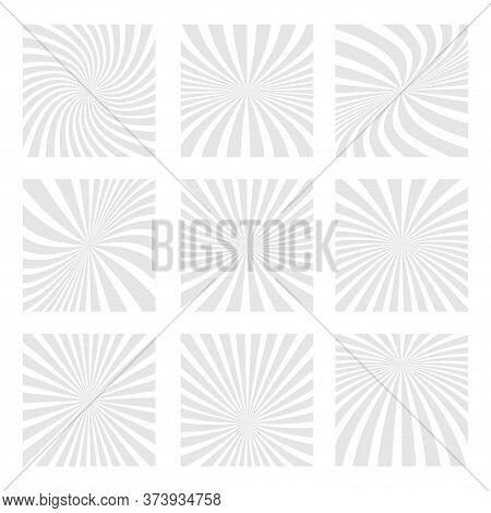 Sun Rays Background. Abstract Sun Rays Background. Sun Rays Backdrop. Vector Illustration