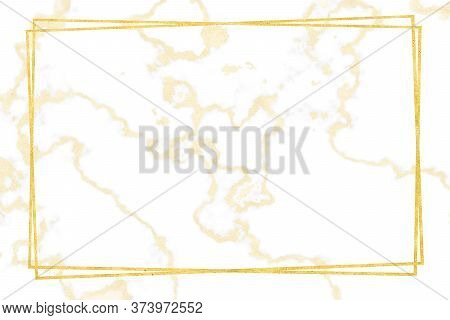 Gold Border Gold White Marble Pattern And Luxury Interior Wall Tile And Floor