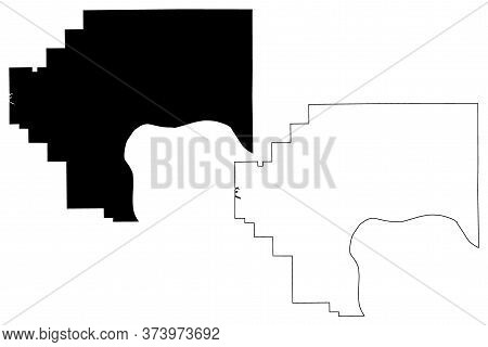 Jefferson County, Indiana (u.s. County, United States Of America, Usa, U.s., Us) Map Vector Illustra