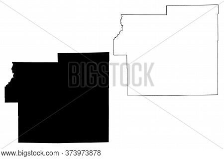 Morgan County, Indiana (u.s. County, United States Of America, Usa, U.s., Us) Map Vector Illustratio