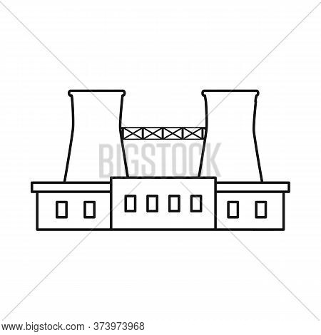 Vector Illustration Of Warehouse And Import Sign. Collection Of Warehouse And Logistics Stock Vector