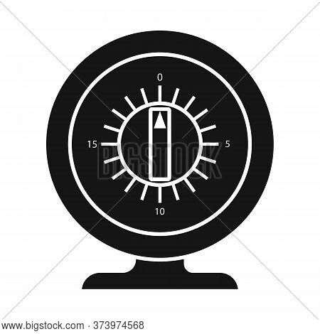 Vector Design Of Timer And Household Icon. Web Element Of Timer And Watch Vector Icon For Stock.