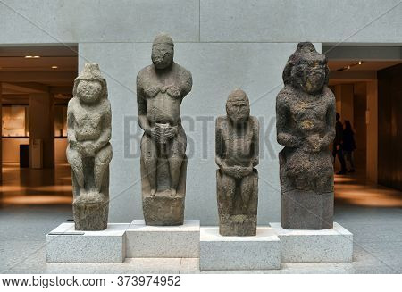 Berlin, Germany - 23,03,2015 : Exhibits Of The Pergamon Museum, Situated On The Museum Island In Ber
