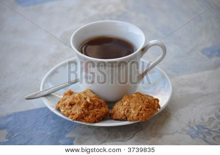 A Cup Of Tea And Cookies