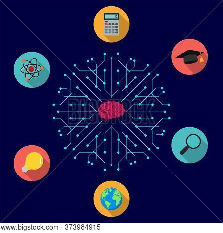 Home Education. Education, Online Courses And Business, Distance Education. Online Study