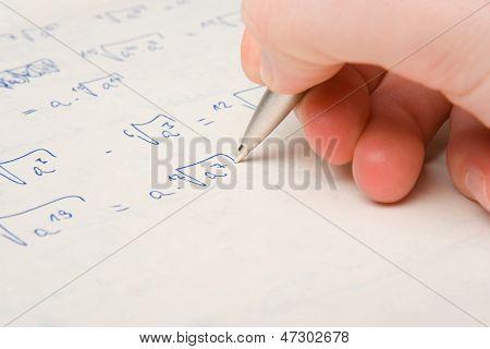 Math Exercise Study