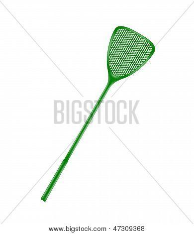 Green flyswatter