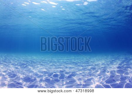Underwater Background in the Sea