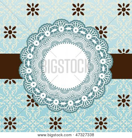 Decorative frame banner