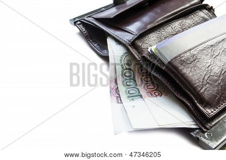 Wallet With Cash