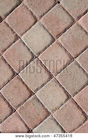 Brick Walkway Background Texture