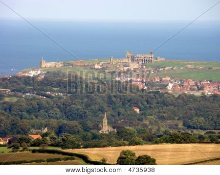 Whitby From The Moors