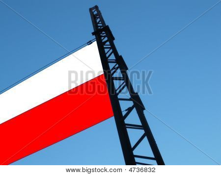 Creative Polish Flag