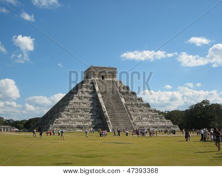 ChichenItza, the pyramids of Maya