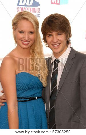 Molly McCook and Devon Werkheiser at the VH1 2010 Do Something Awards, Palladium, Hollywood, CA. 07-19-10