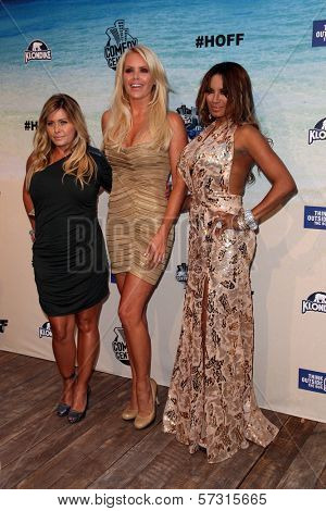 Nicole Eggert, Gena Lee Nolin and Traci Bingham at the Comedy Central Roast of David Hasselhoff, Sony Studios, Culver City, CA. 08-01-10