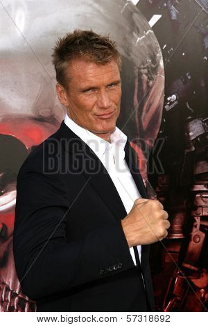 Dolph Lundgren  at the