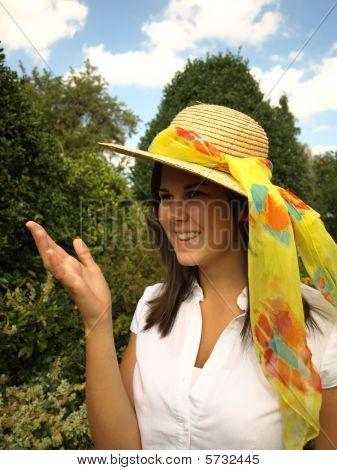 Girl Enjoying Sunshine