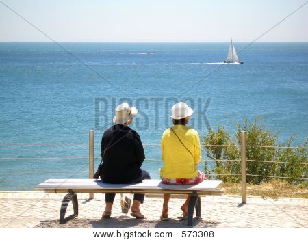 Watching The Sea