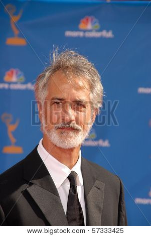 David Strathairn at the 62nd Annual Primetime Emmy Awards, Nokia Theater, Los Angeles, CA. 08-29-10