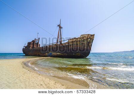 Gytheio Shipwreck