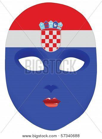 Croatia Mask