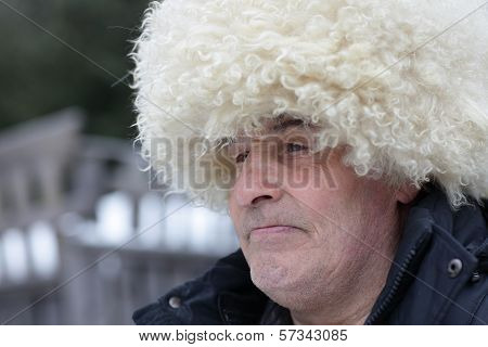 Man In Caucasian Hat