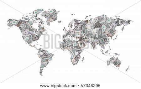 Map Of Dollars
