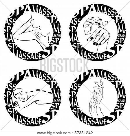 Massage illustration