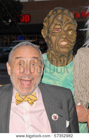 Lloyd Kaufman at the 35th Troma Anniversary Event, New Beverly Cinema, Los Angeles, CA. 04-23-10