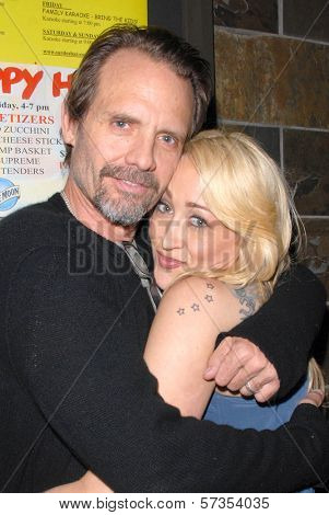 Michael Biehn and Jennifer Blanc-Biehn at Jennifer Blanc-Biehn's Birthday Party, Sardos, Burbank, CA. 04-23-10