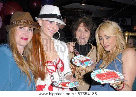 Jenise Blanc, Phoebe Price, Flora Price and Jennifer Blanc-Biehn at Jennifer Blanc-Biehn's Birthday Party, Sardos, Burbank, CA. 04-23-10