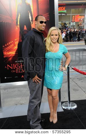 Hank Baskett and Kendra Wilkinson at the