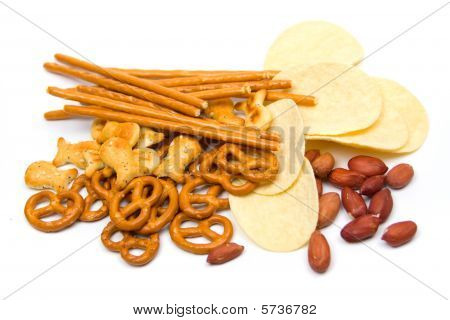 Potato Chips And Salty Snack