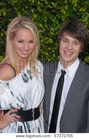 Molly McCook and Devon Werkheiser  at the 12th Annual Young Hollywood Awards, Wilshire Ebell Theater, Los Angeles, CA. 05-13-10