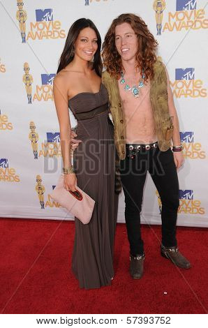 Shaun White at the 2010 MTV Movie Awards Arrivals, Gibson Amphitheatre, Universal City, CA. 06-06-10
