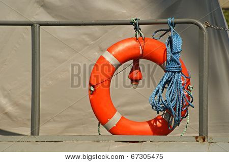 lifebuoy boat