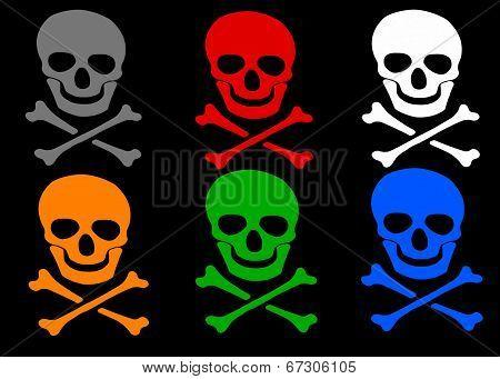 Skull And Crossbones Set