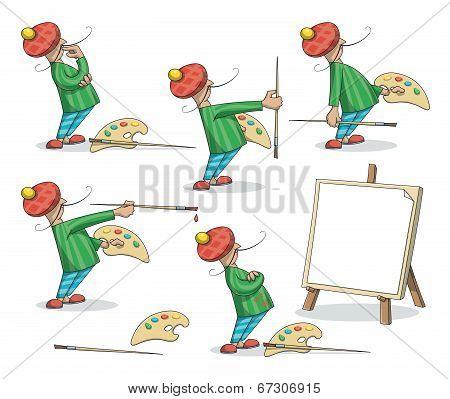 Artist Painter Set