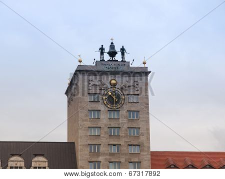 Krockhochhaus Leipzig