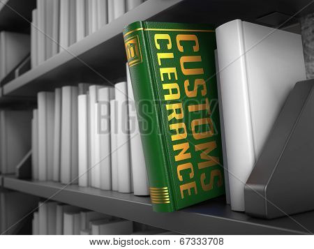 Customs Clearance - Title of Green Book.