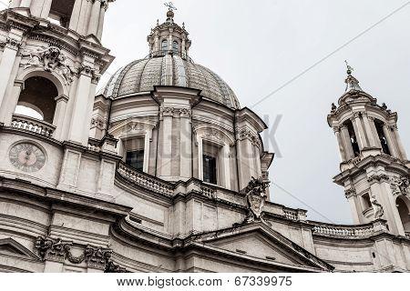 Sant Agnese Church Detail