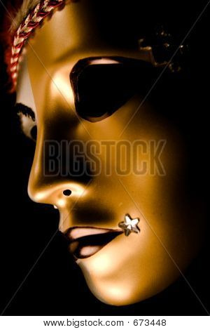 Decorated Venetian Mask