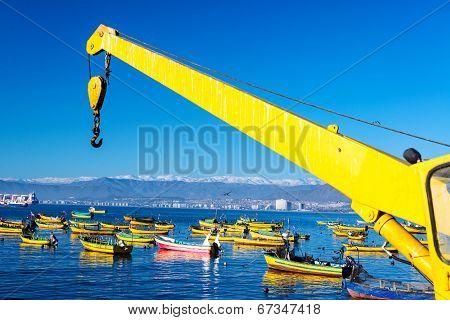 Fishing Boats In Coquimbo