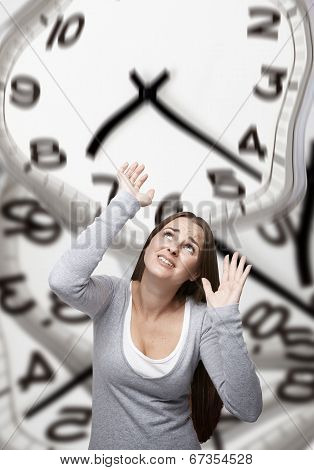 Time Pressure On A Woman