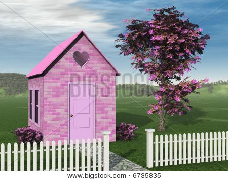 Pink Brick Cottage
