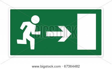 Exit Sign - XL