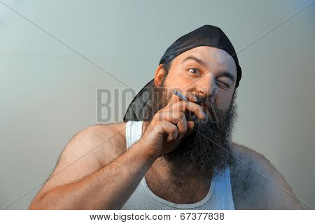 Smoking Redneck